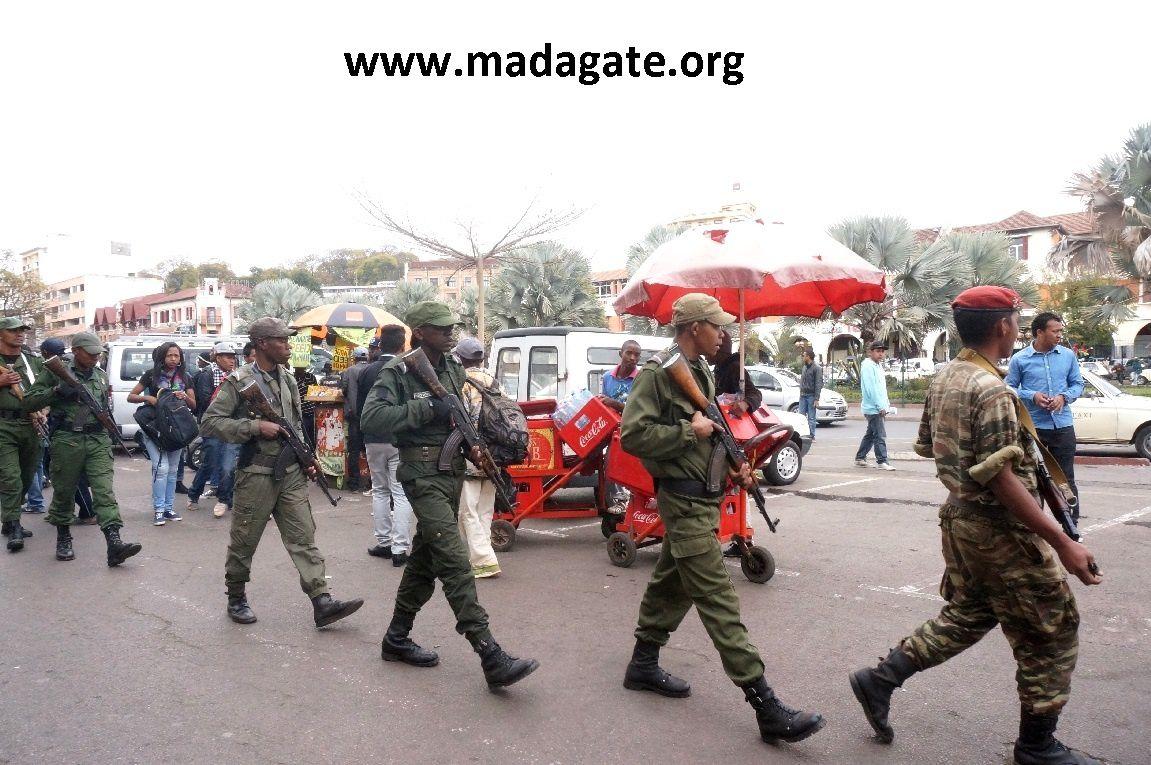 Antananarivo 19 août 2016. Les images d'une dictature établie