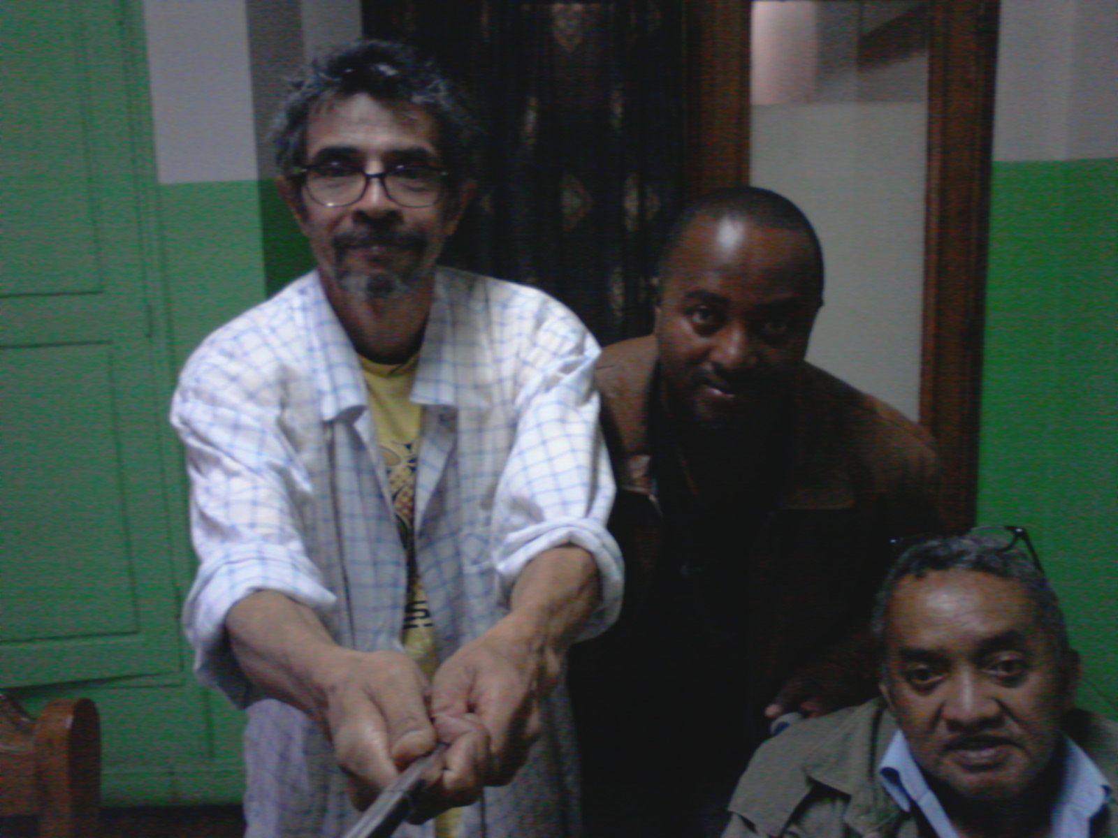 Avec Ravelo et Dr Gervais, le 02 janvier 2017