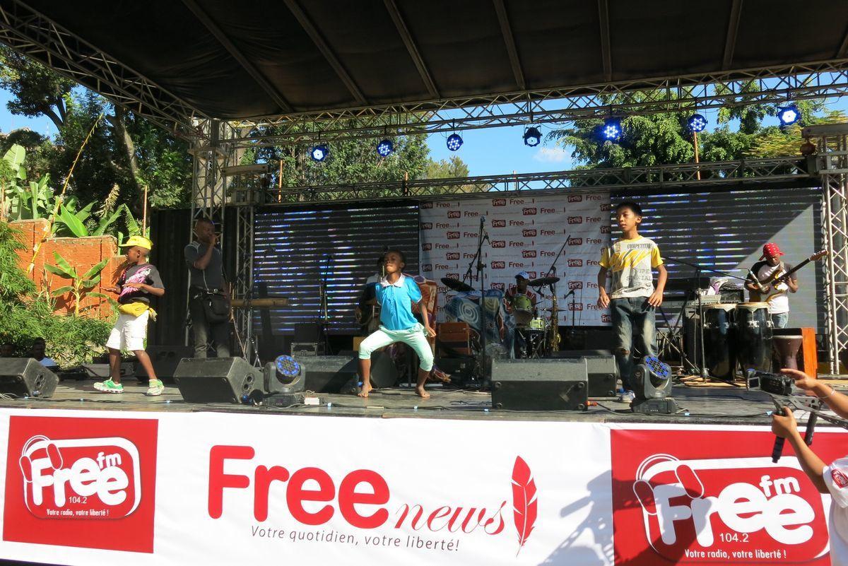 Lalatiana Rakotondrazafy et les 6 ans de Radio Free FM 104.2. Kianjan'ny Kanto, 13 Mai 2017