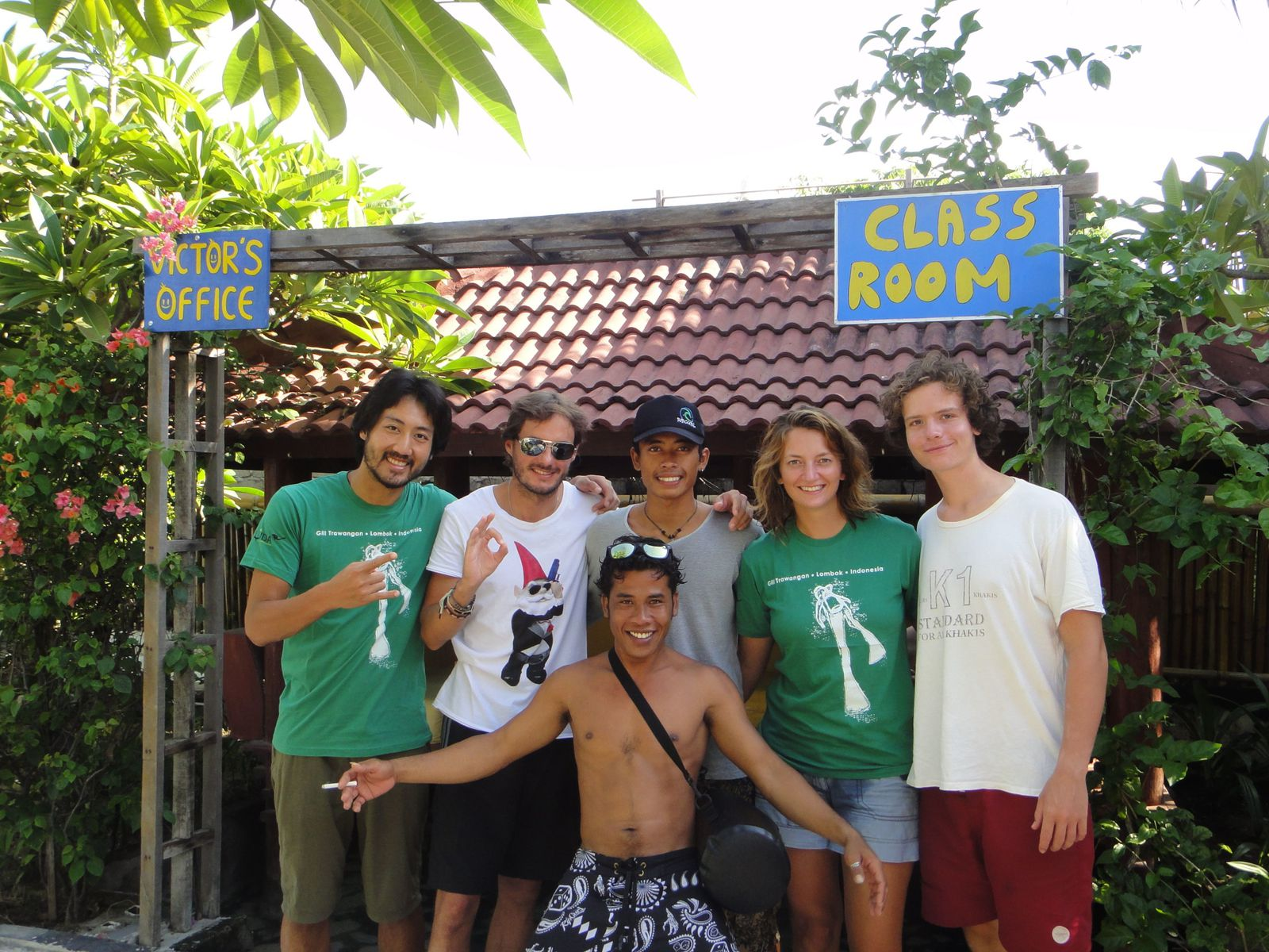 Last day in gili island
