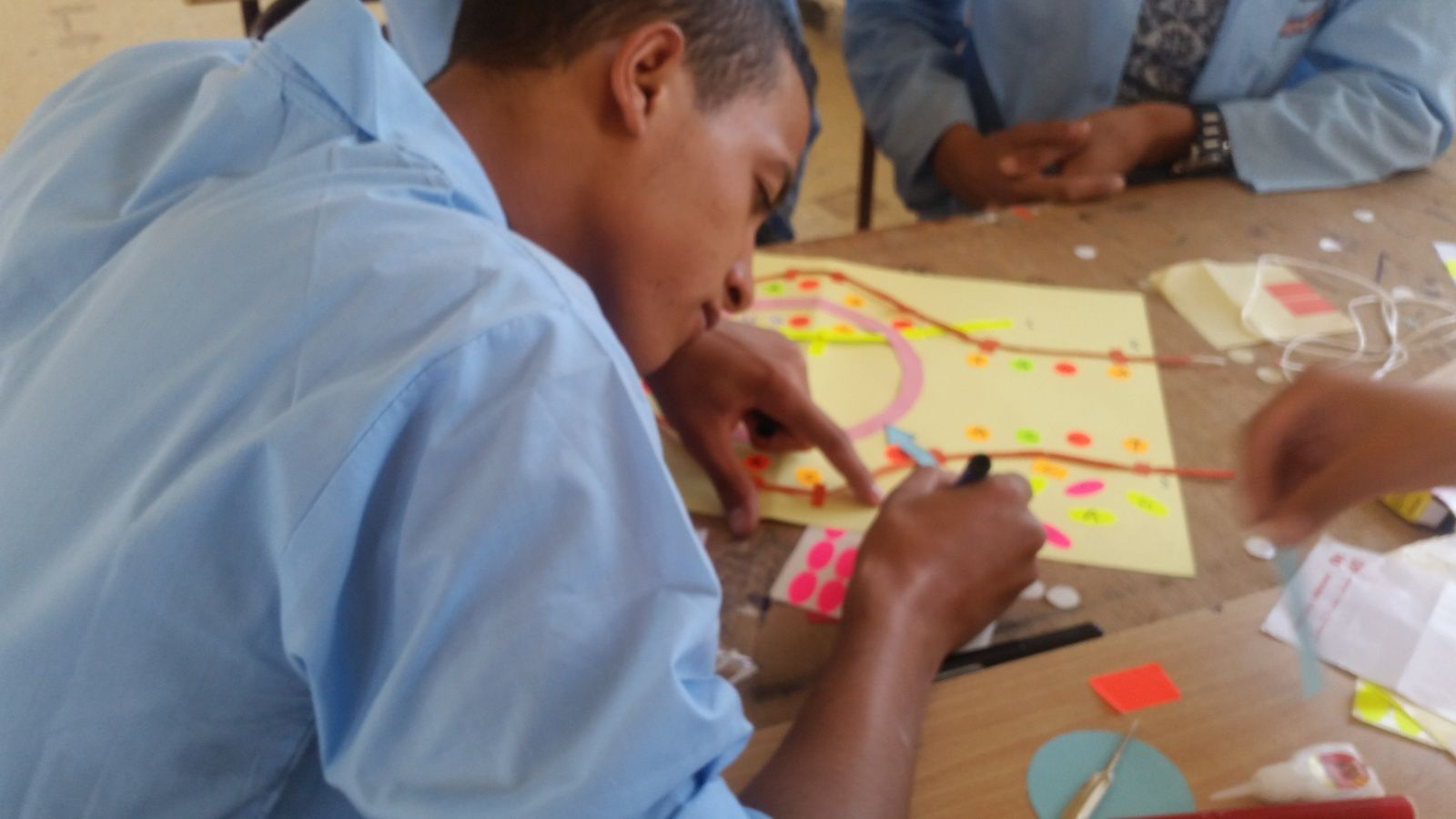 نمذجة عملية النسخ مطلوبة في المنهاج فلا تحرم تلاميذك منها