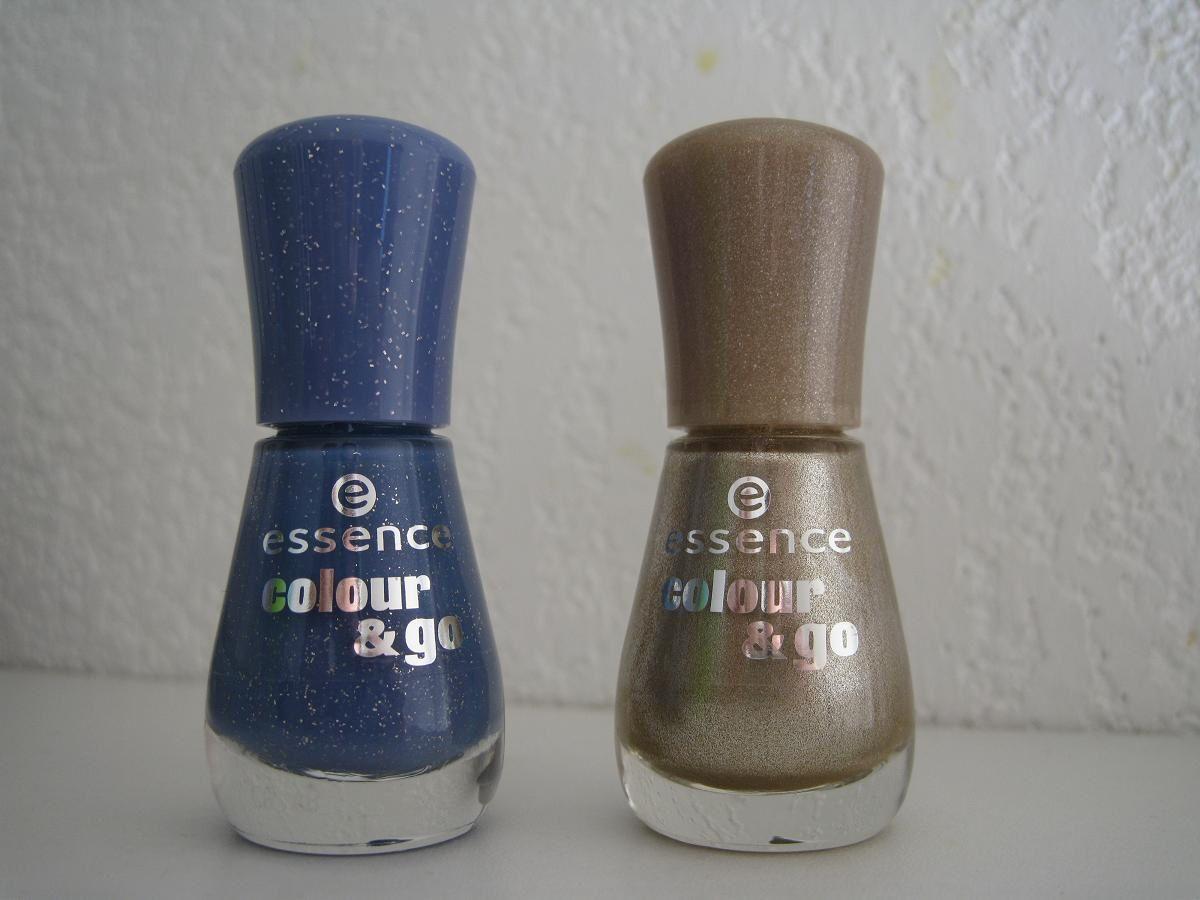 A Gauche, I'm Bluetiful&#x3B; à droite, Go Bold