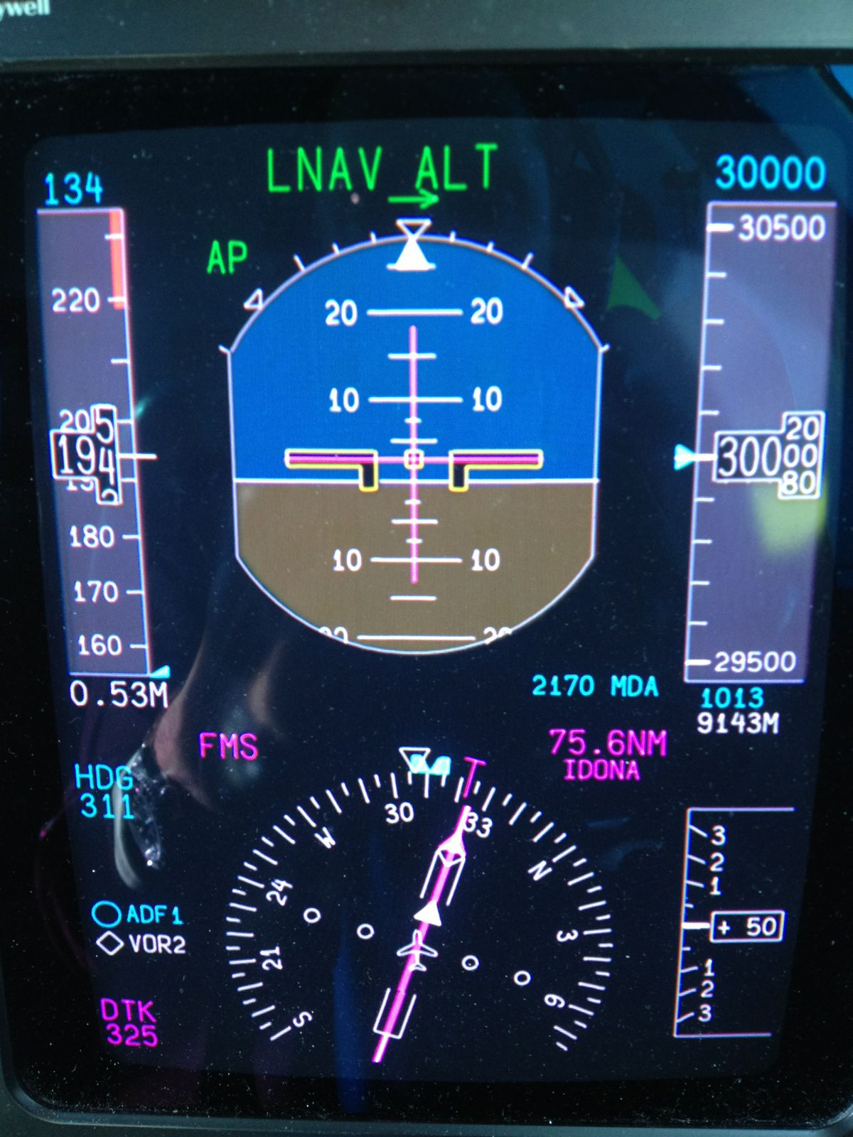 30'000 pieds