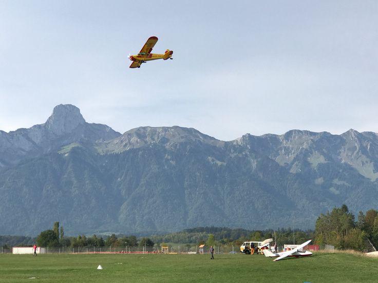 Atterrissage à Thun et survol du Siementhal