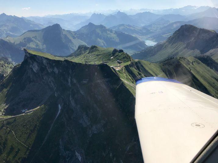 Mont-Blanc, Gruyère, Ecuvillens