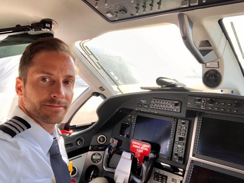 Nouveau job, Pilote sur Pilatus PC-12NG