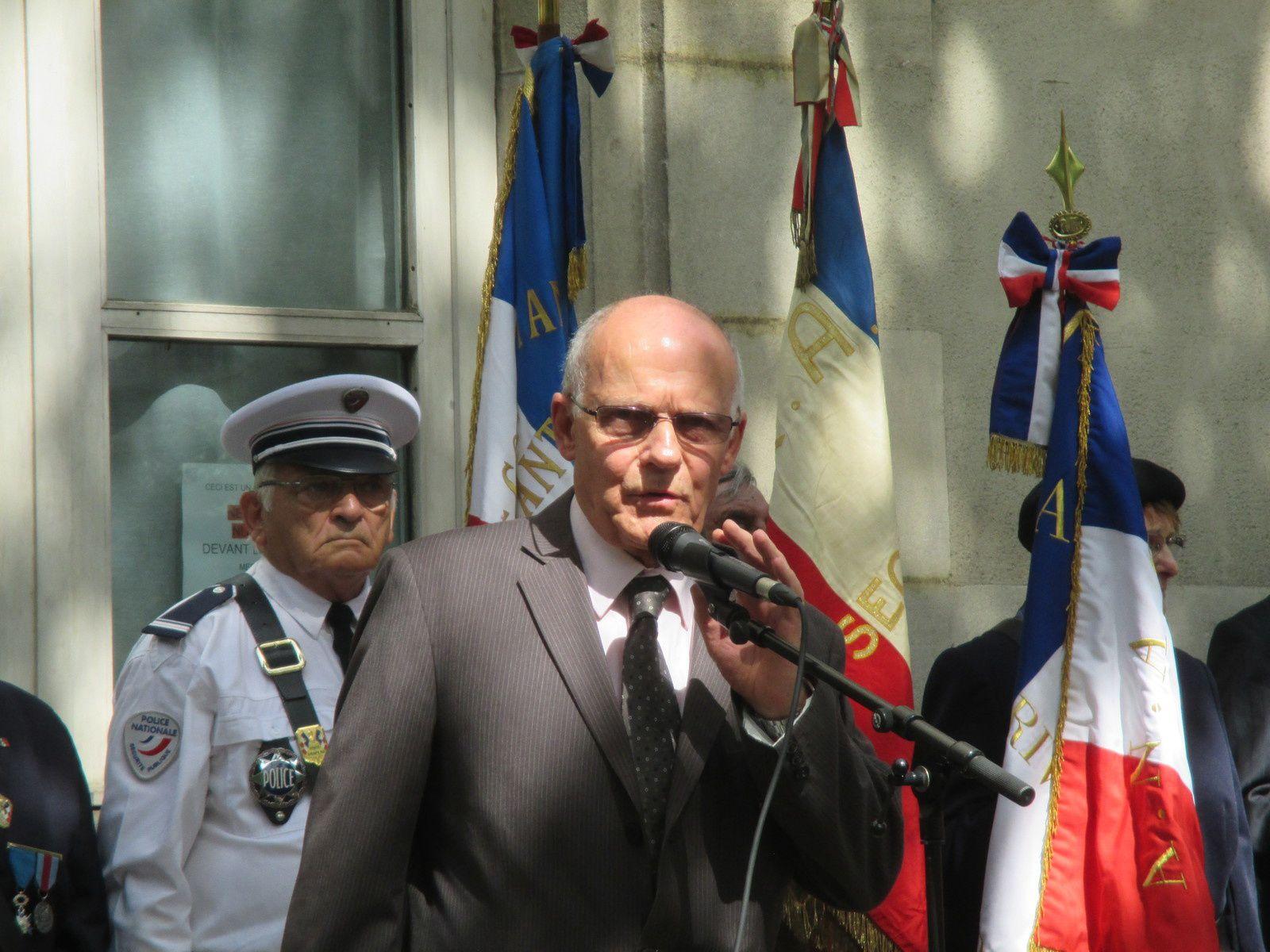 Maurice ODIARD Président de l'UFAC Rhône