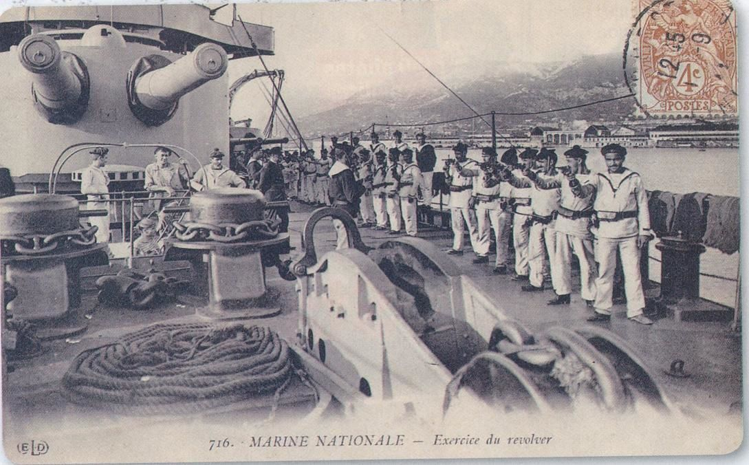 Exercice Révolver 1892