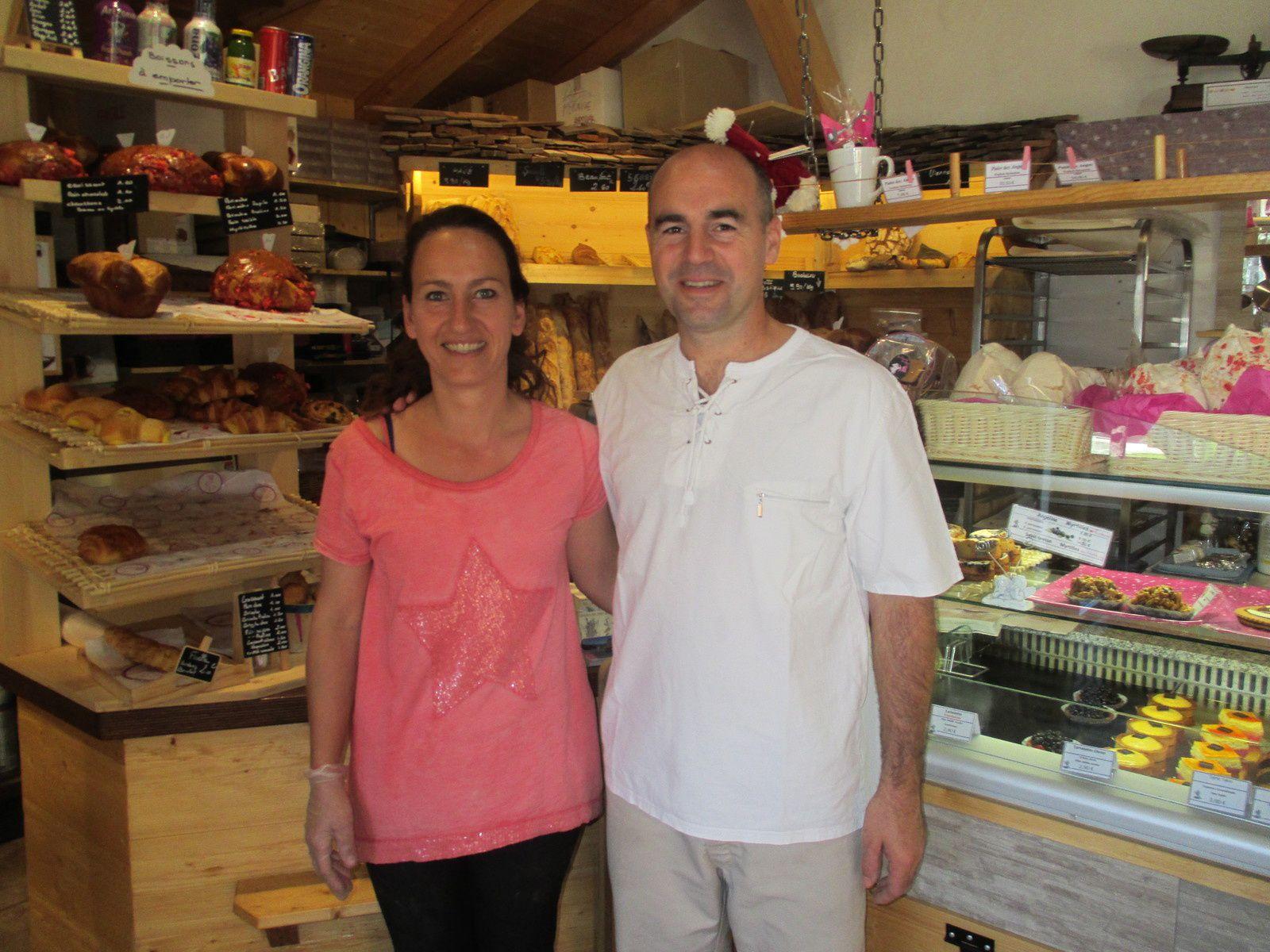 """Merci à Sonia et Sylvian DUBESSY de la Boulangerie Pâtisserie """"Au Sommet des Anges"""" 73590 Crest-Voland,qui apportent leur soutien au projet du Mémorial national des Vétérans des Essais Nucléaires"""
