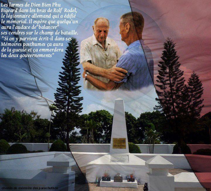Retour douloureux à Diên Biên Phù pour le Général Marcel BIGEARD, en 1994 quarante ans après la bataille.