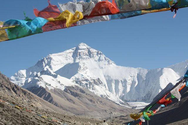 Camps de base Nord de l'Everest