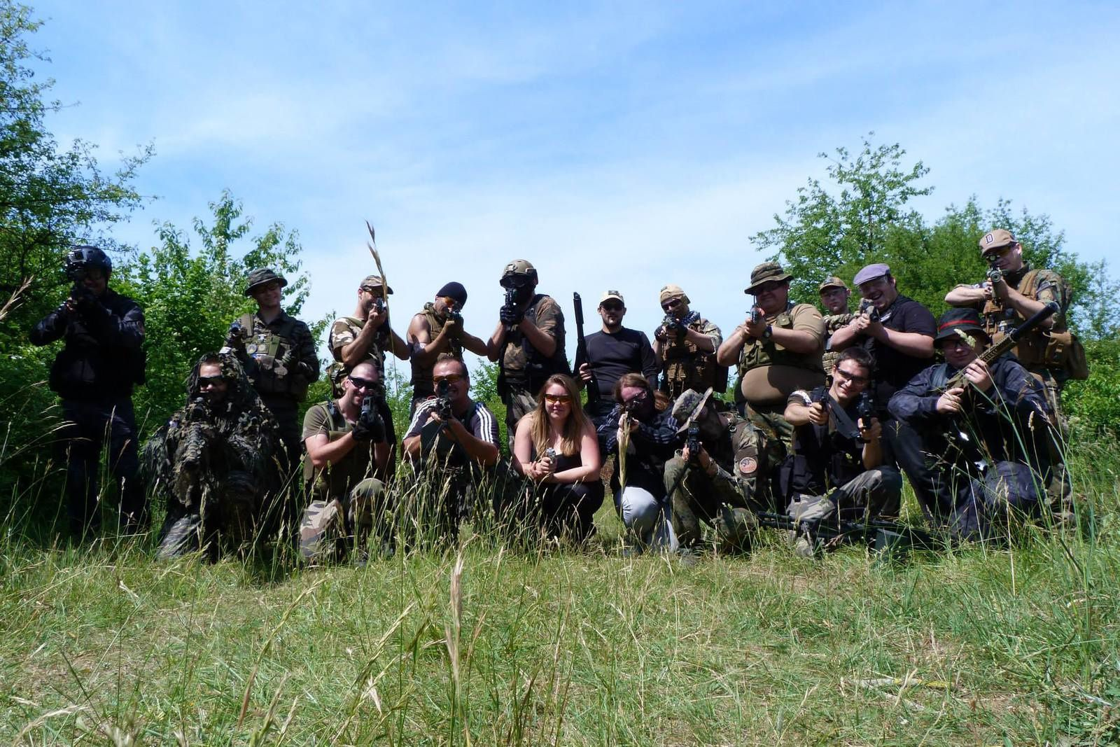 Photo empruntée sur le Facebook de la Black Eagles Airsoft.