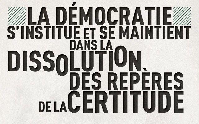 LA DEMOCRATIE A L'EPREUVE DES GRANDS PROJETS
