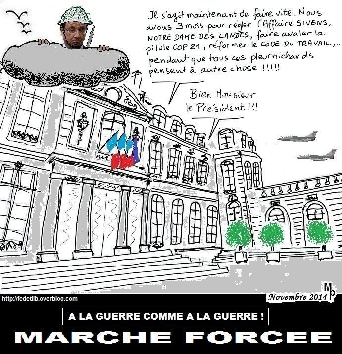 MARCHE FORCEE