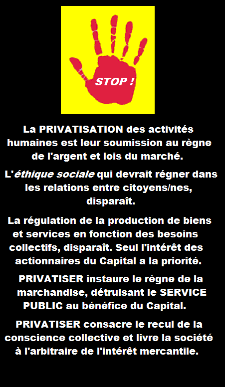 PRIVATISATIONS