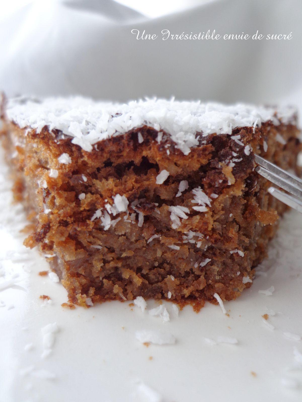 Gâteau au Chocolat &amp&#x3B; noix de coco