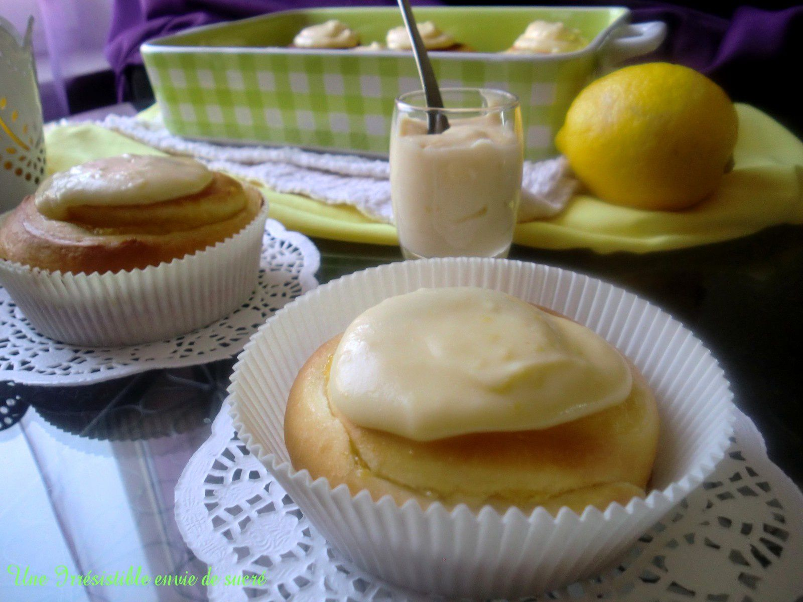 Petite Lemon Curd Cookies Recipe — Dishmaps