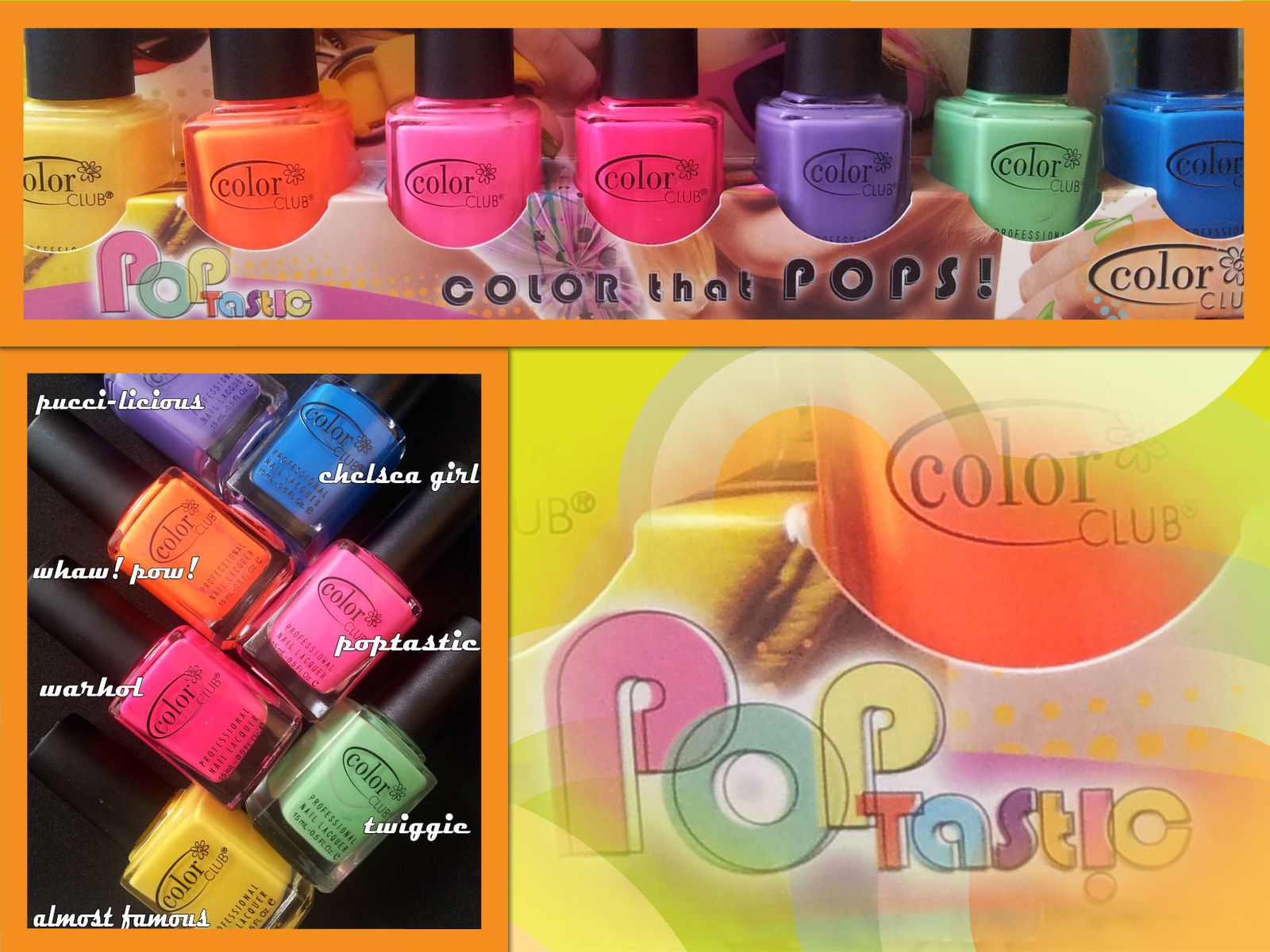 COLOR CLUB collection POPTASTIC