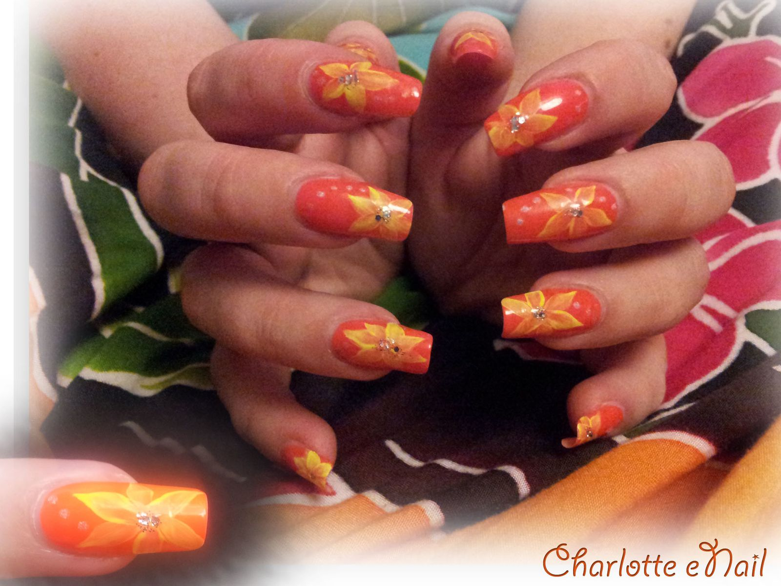 Nail art  : HAWAÏ