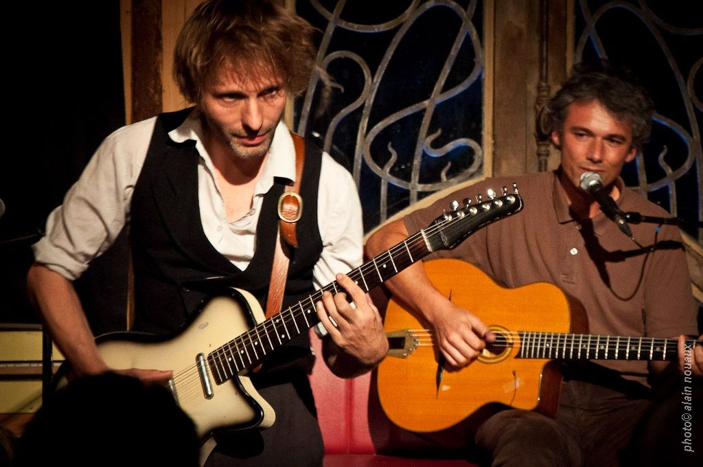 Nicolas Jules et Nicolas Moro chantent  Brassens