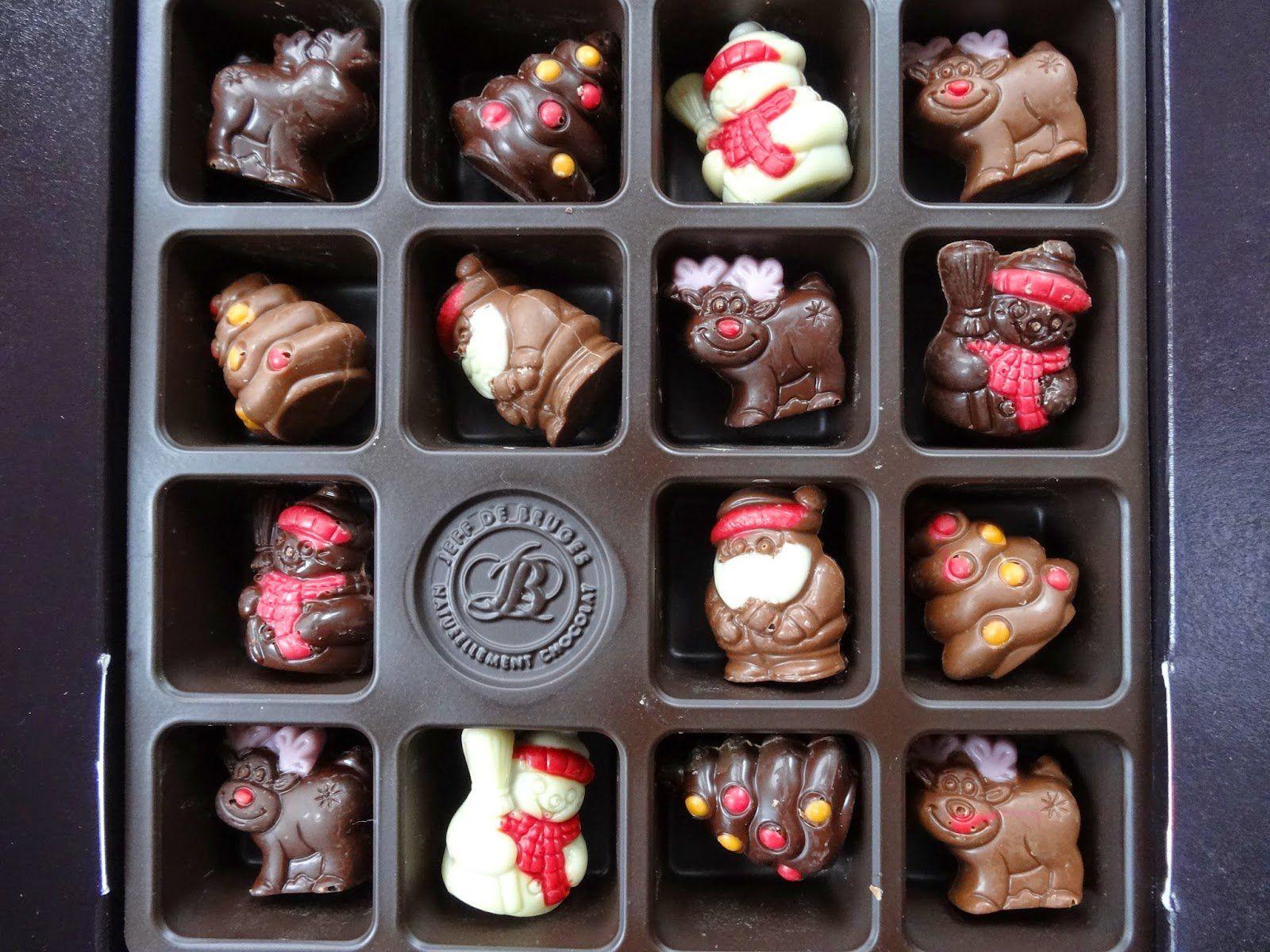 JOUR 12 - Résister au chocolat de Noël..