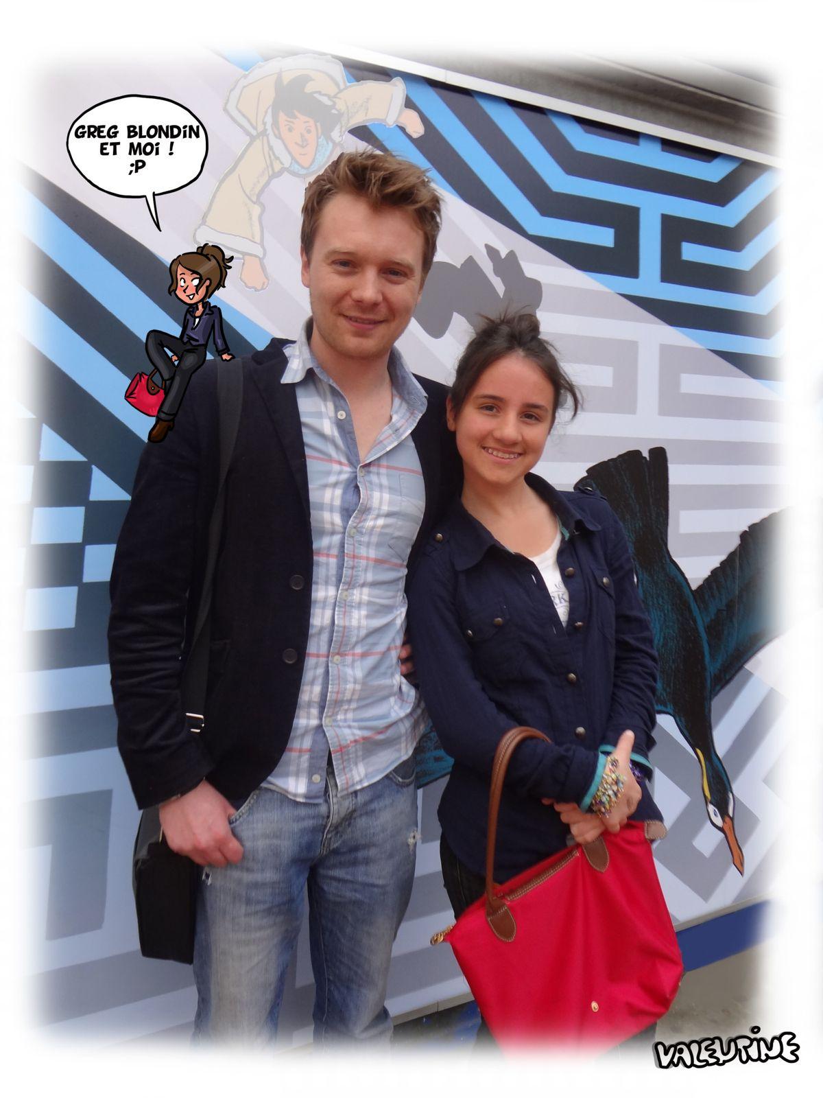 Souvenir du festival BD à Amiens !!  &#x3B;)