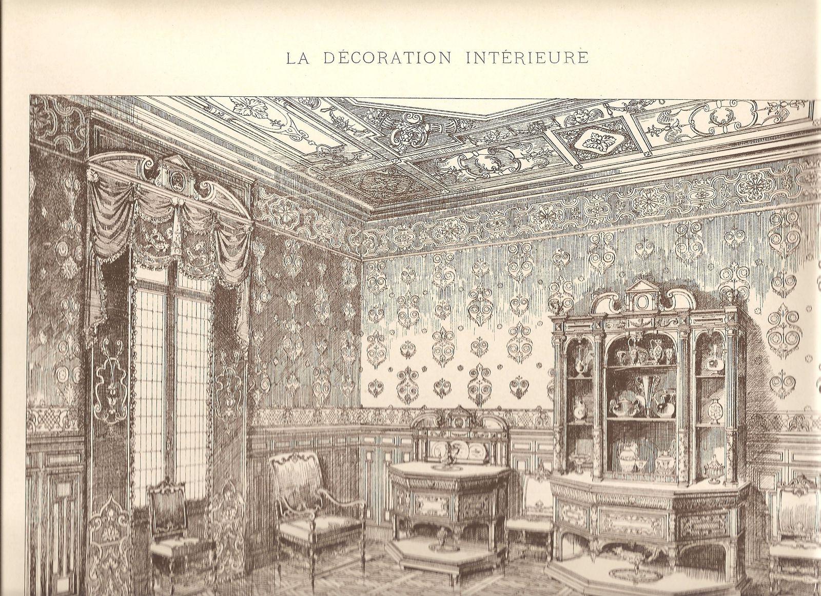 Ad simoneton dessins et gravures la d coration for Salle a manger louis xiii