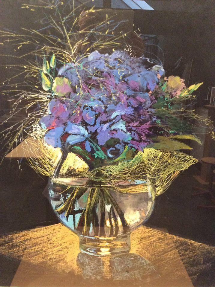 l'hortensia bleu