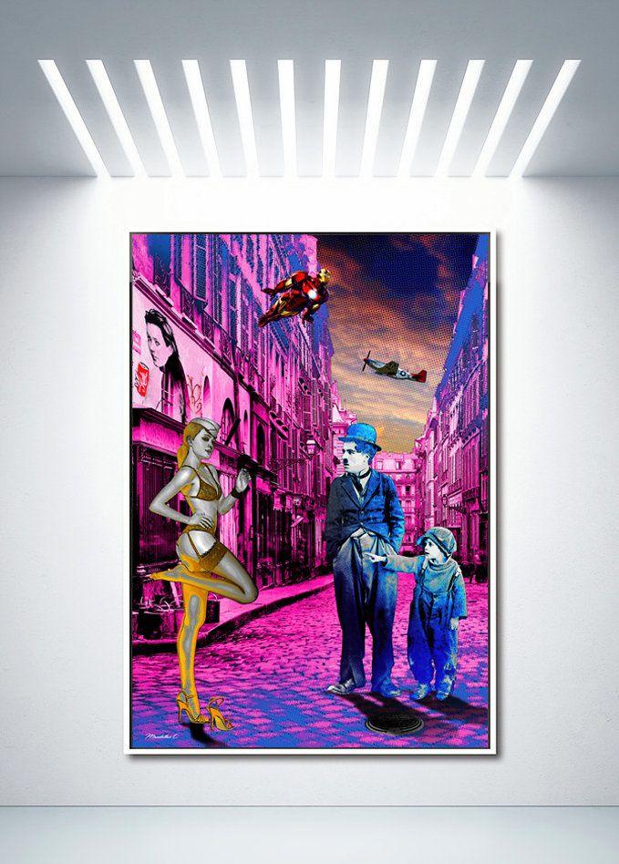 Mandallaz C. Artiste Pop Art ..