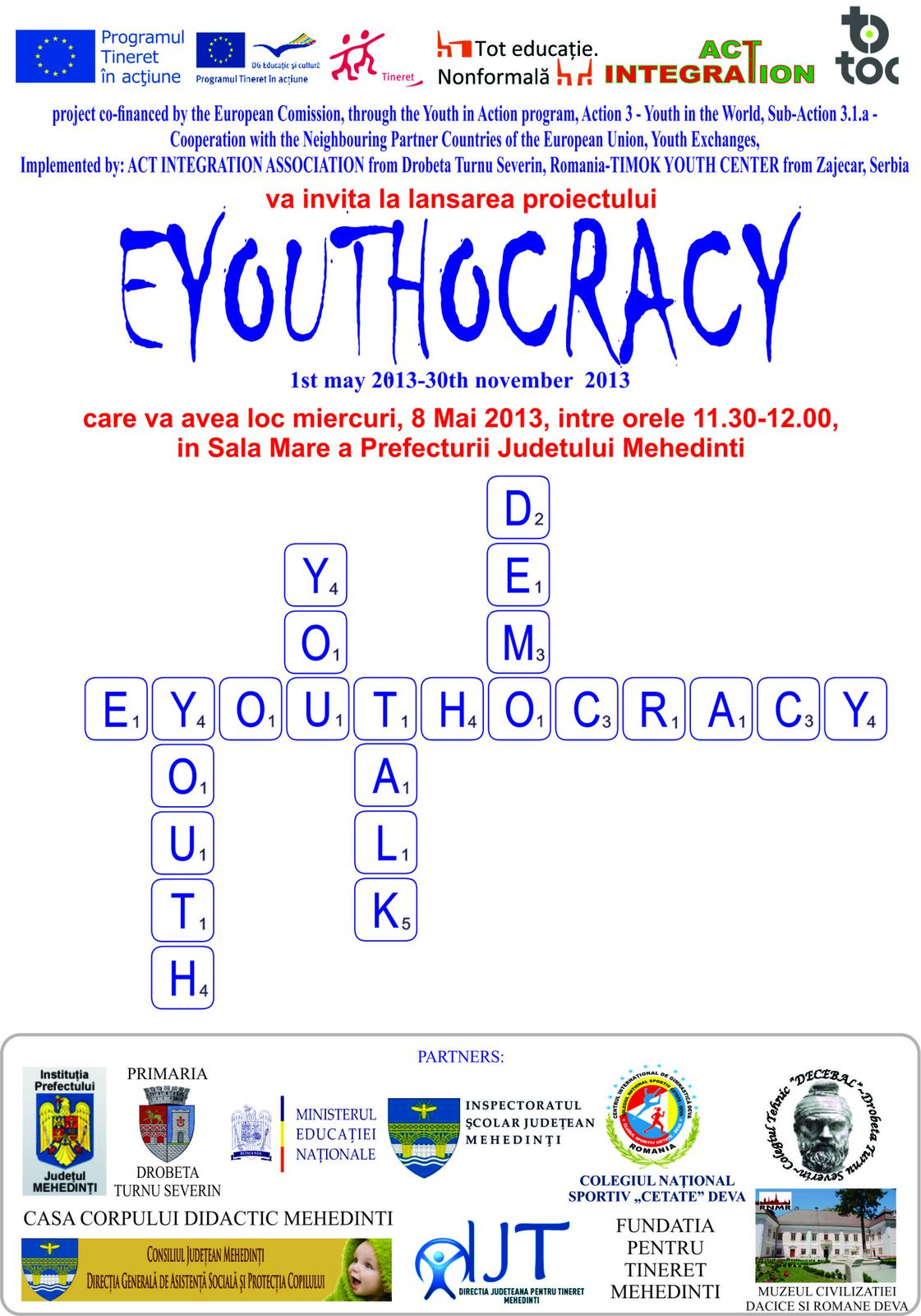 6th-8th may 2013-Eyouthocracy Project-The Advanced Planning Visit