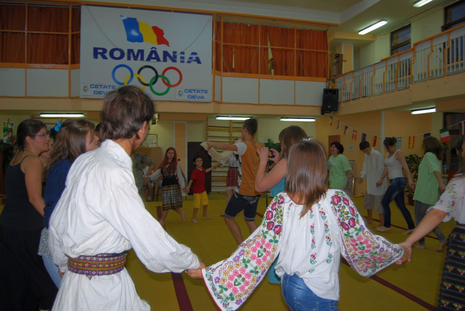 Eyouthocracy project Romanian and Serbian dances