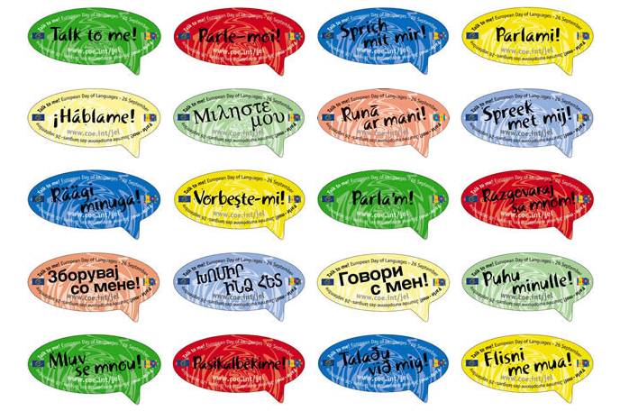26th September 2013 - European Day of Languages