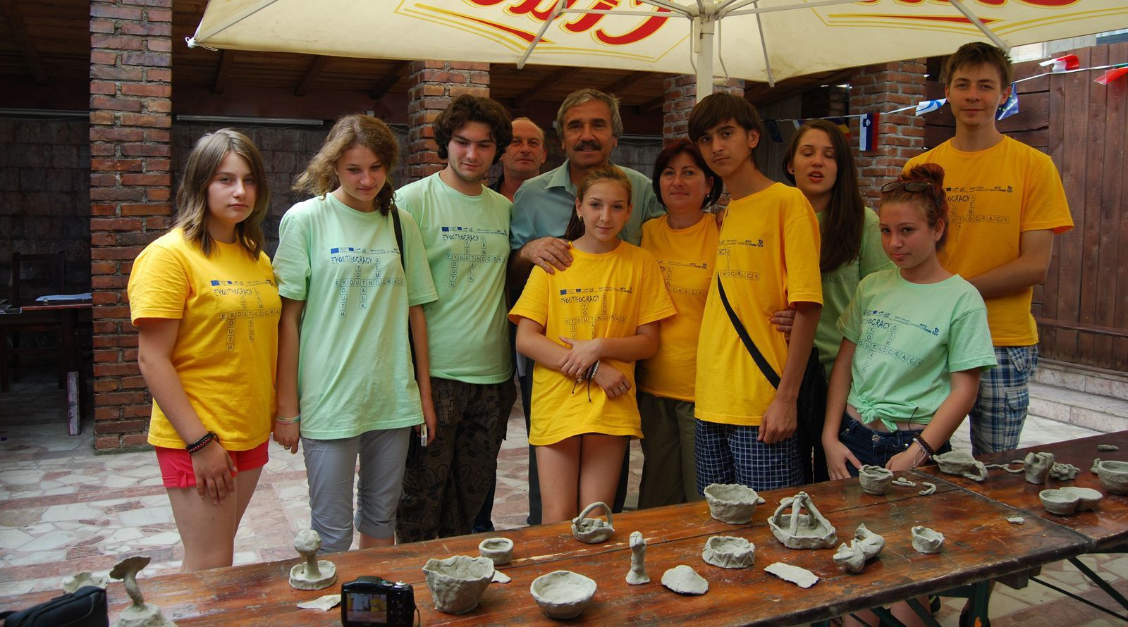 Eyouthocray Youth Exchange-8th day-15th july 2013 in Drobeta Turnu Severin