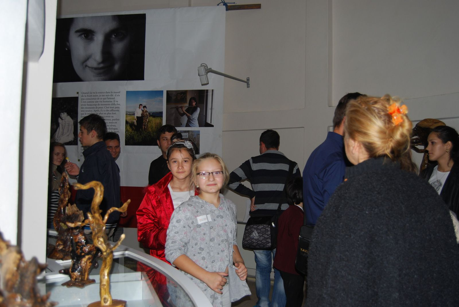 Ziua Educatiei Nonformale octombrie 2013 -Vizita Expozitiei Eyouthocracy