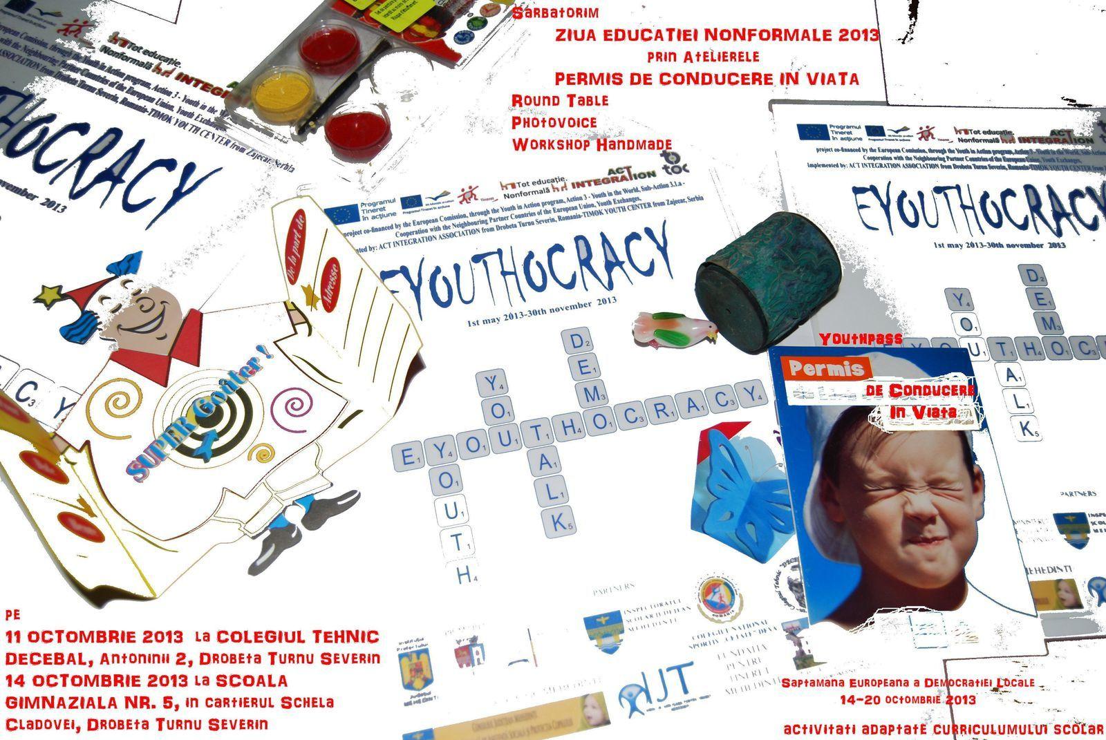 Saptamana Europeana a Democratiei Locale- 14-19 octombrie 2013