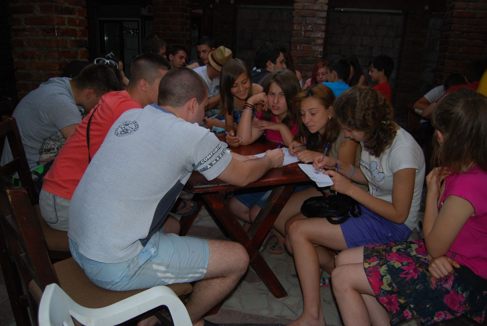 Eyouthocray Youth Exchange-7th day-14th july 2013 in Drobeta Turnu Severin