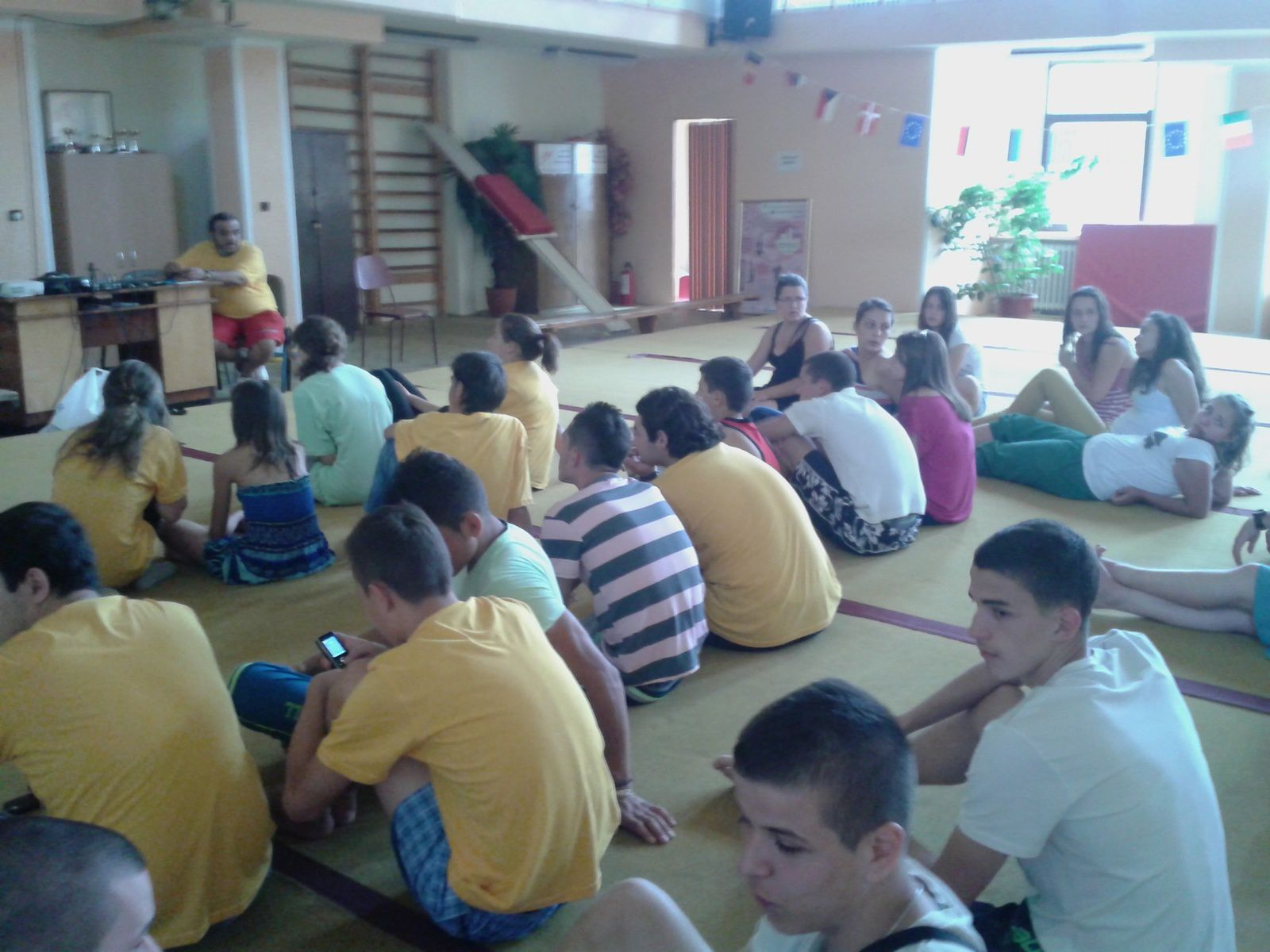 Eyouthocracy Youth Exchange- 3th Day-10th july 2013-in Deva