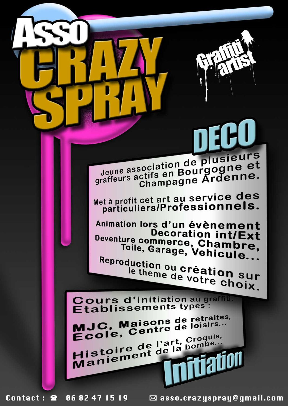 L'Association Crazy Spray