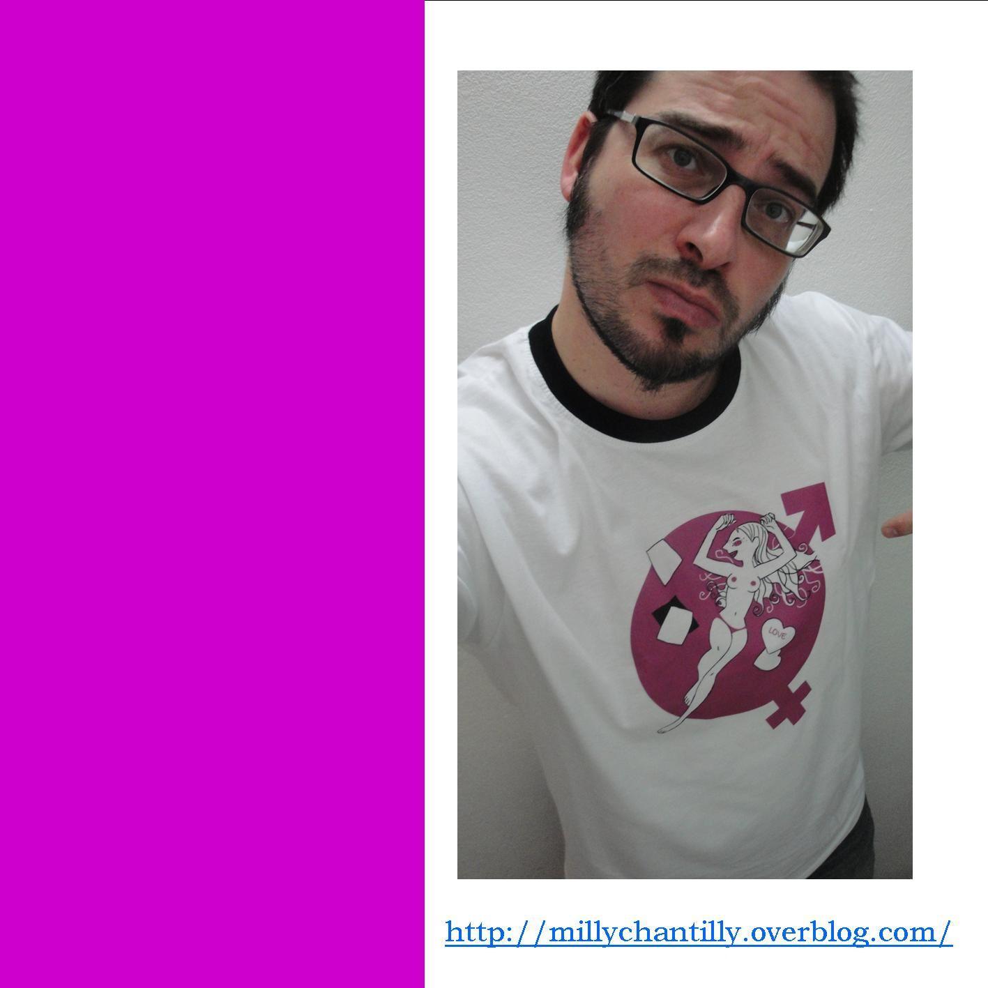 Mickael et t.shirt
