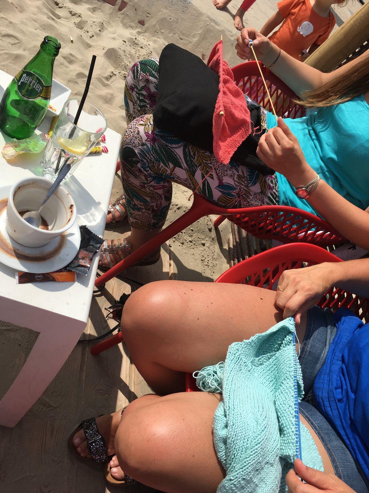C'est l'été, c'est tricot-thé !
