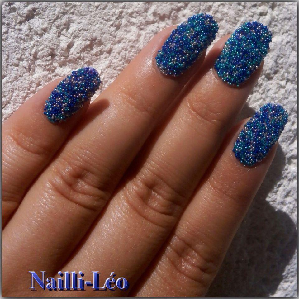 Caviar Manucure Bleu