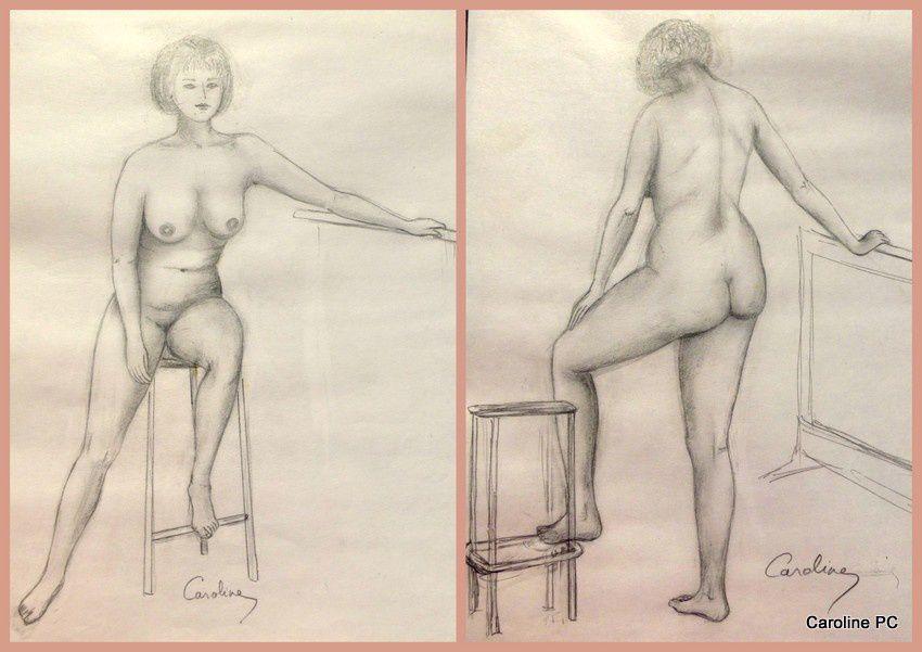 Croquis de nus(6)