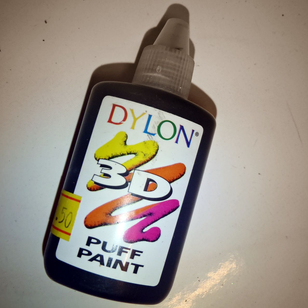 Dylon puff paint