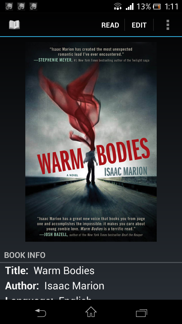 BOOK: Warm Bodies