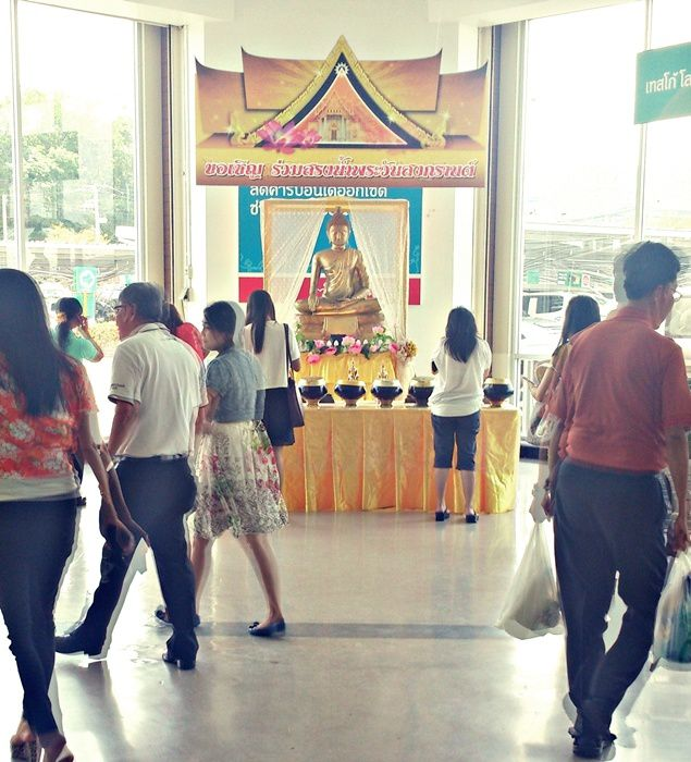 Buddha at Tesco Lotus