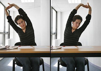 10 exercices pour faire du sport à son bureau