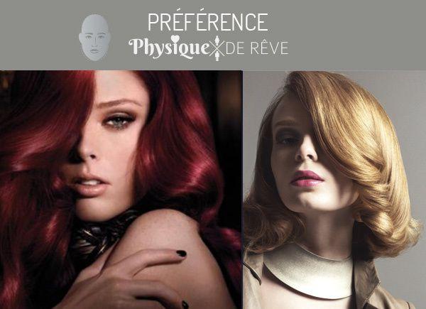 Notre préférence coupe de cheveux c'est le long ondulé type années 50 sur raie bien asymétrique (façon Jessica Rabbit)