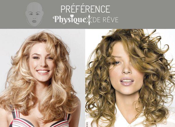 Notre préférence coupe de cheveux c'est le mi-long bouclé ou ondulé.