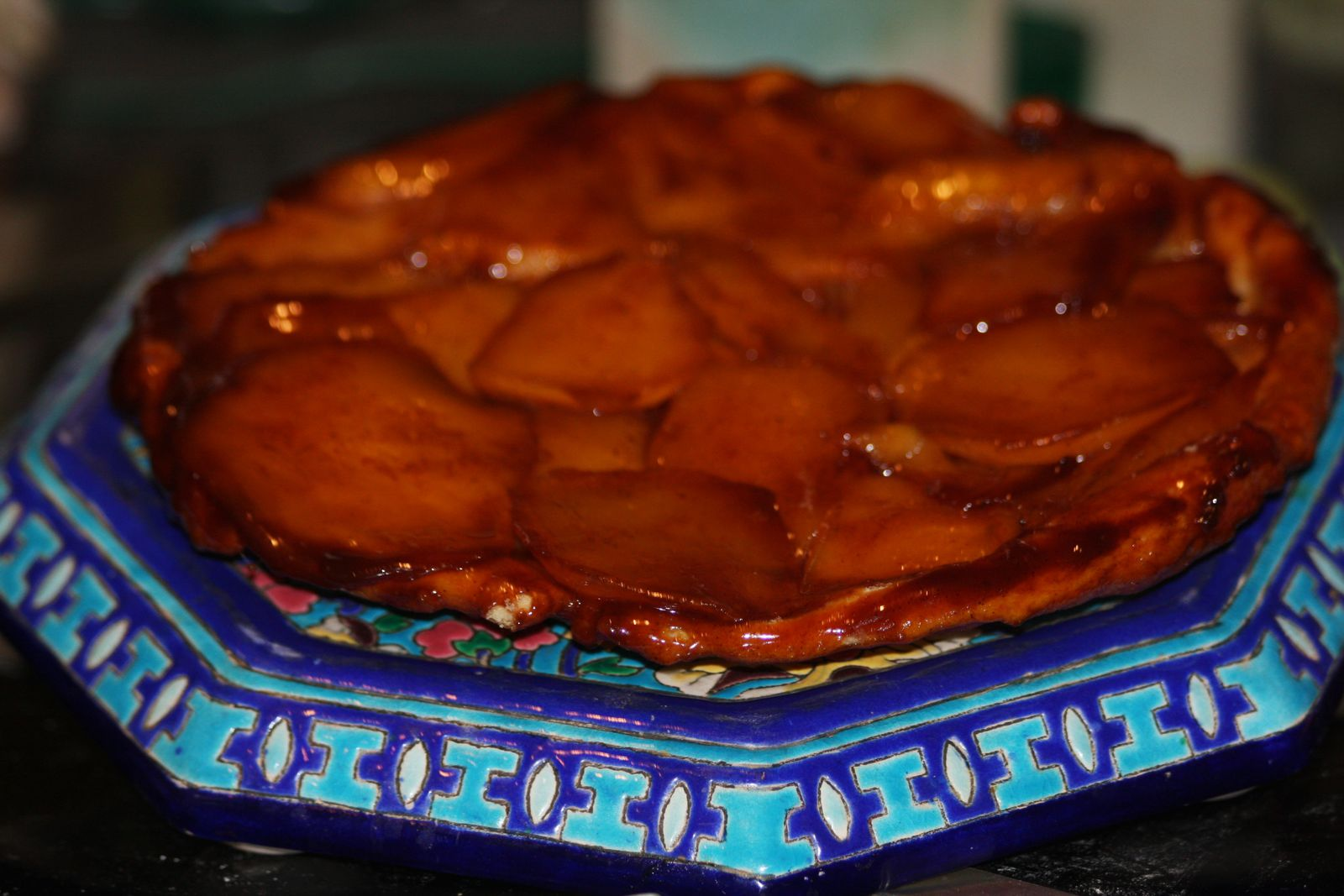Tarte tatin à la mangue