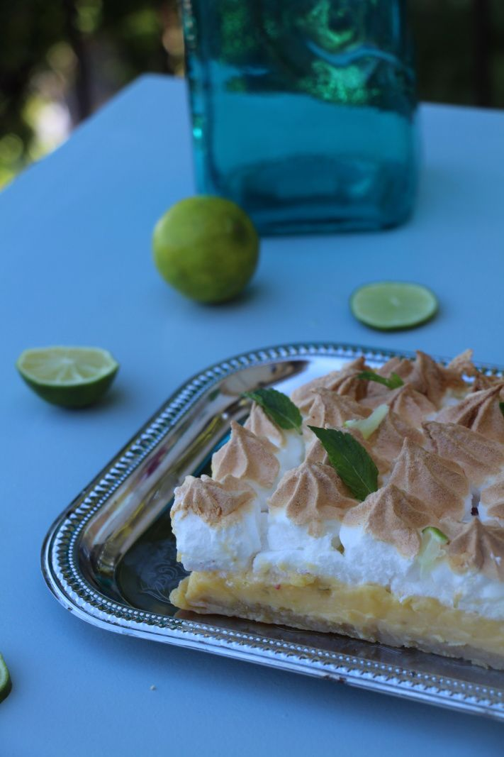 Key lime Pie au yuzu